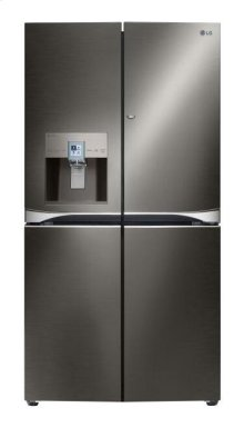 LG Black Stainless Steel 30 cu.ft. 4-Door French Door Refrigerator w/ 3-Tier Filtration® System