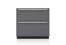 "36"" Designer Refrigerator Drawers with Air Purification - Panel Ready"