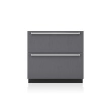 """36"""" Designer Refrigerator Drawers with Air Purification - Panel Ready"""