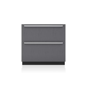 "Subzero36"" Designer Refrigerator Drawers with Air Purification - Panel Ready"