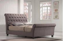 Innsbruck - Queen Linen Mineral Upholstered Bed