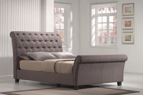 Innsbruck - 5/0 Upholstered Bed Kit Linen Mineral