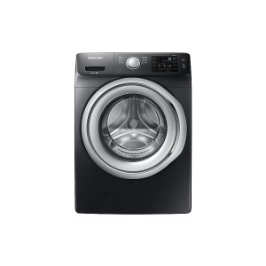 Samsung Appliances4.5 cu. ft. Front Load Washer with Vibration Reduction Technology in Black Stainless Steel