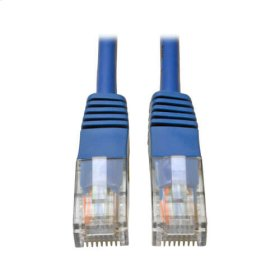 Cat5e 350MHz Molded Patch Cable (RJ45 M/M) - Blue, 3-ft.