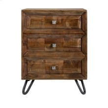 Aleppo 3-Drawer Side Table