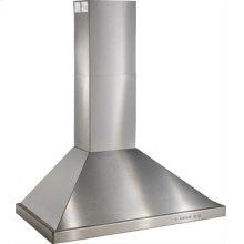"36"" Brushed Stainless Steel Range Hood with 600 CFM Internal Blower"