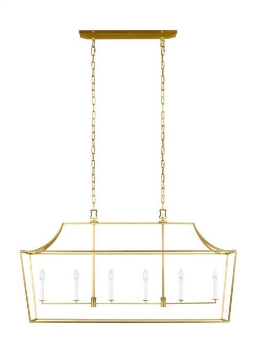 6 - Light Linear Lantern