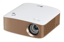 LED Projector with Embedded Battery and Screen Share