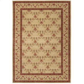 Ashton House As07 Bge Rectangle Rug 3'6'' X 5'6''