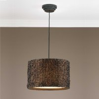 Knotted Rattan, 3 Lt. Pendant Product Image