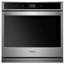 5.0 cu. ft. Smart Single Wall Oven with True Convection Cooking