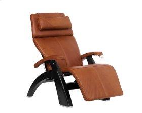 Perfect Chair PC-420 Classic Manual Plus - Cognac Premium Leather - Matte Black