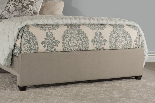 Lila Queen Bed - Dove Gray Fabric