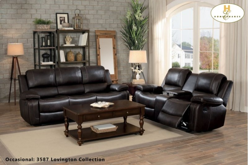 8334dbr3 In By Homelegance In Orange Ca Double Reclining Sofa