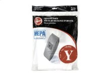 Type Y HEPA Bag (2-Pack)