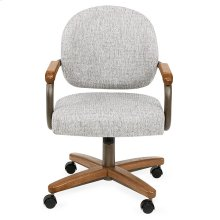 Chair Base: Wide (chestnut & bronze)