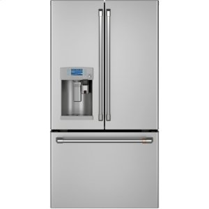Cafe AppliancesENERGY STAR ® 22.1 Cu. Ft. Smart Counter-Depth French-Door Refrigerator with Keurig ® K-Cup ® Brewing System