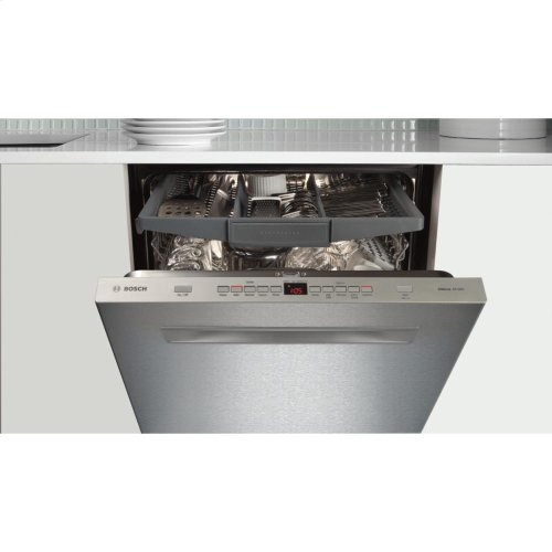 24' Flush Handle Dishwasher 500 Series- Stainless steel