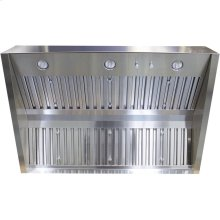 "Cambridge 36"" 304 SS BBQ Hood, 32"" Depth, 1250 CFM, Baffle Filter"