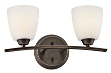 Granby 2 Light Vanity Light Olde Bronze®