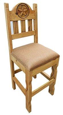 Star Barstool W/padded Seat