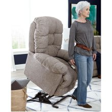POWER LIFT RECLINER WITH POWER HEADREST OPTION