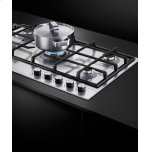 """Fisher & Paykel Gas on Steel Cooktop, 36"""""""