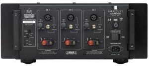 Three-Channel Power Amplifier