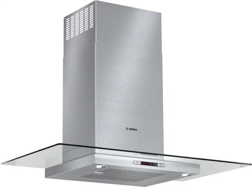 "Bosch 36"" Glass Canopy Chimney Hood - Stainless Steel (Scratch & Dent)"