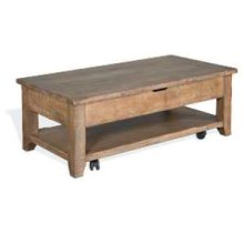 Driftwood Coffee (Lift Top) Table