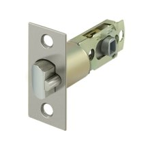 Square Latch Adj. Entry - Brushed Nickel