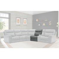Mason Charcoal Armless Chair Product Image