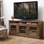 Sherborne - TV Console - Toasted Pecan Finish Product Image
