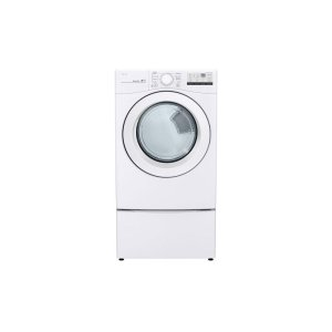 LG 鸭博娱乐s7.4 cu. ft. Ultra Large Capacity Gas Dryer