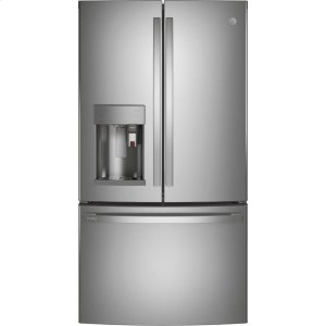 GEGE Profile™ Series ENERGY STAR® 27.7 Cu. Ft. Smart Fingerprint Resistant French-Door Refrigerator with Keurig® K-Cup® Brewing System