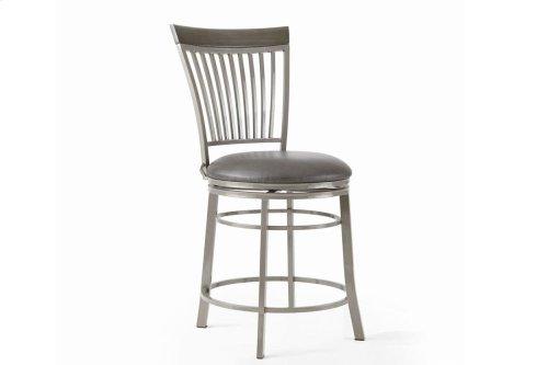 "Milo Swivel Counter Chair 20""x23""x41"""