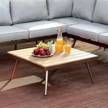 Evita Patio Sectional W/ Corner Table