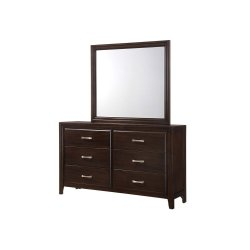 1006 Agathis Dresser with Mirror