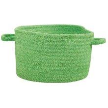 Citrus Green Chenille Creations Basket