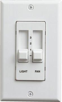 2 AMP SLDE FAN CONTROL-WH