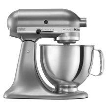 Artisan® Series 5 Quart Tilt-Head Stand Mixer - Contour Silver