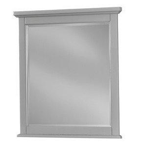 VAUGHAN BASSETT BB26-442 Bonanza Grey Small Landscape Mirror