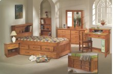 Twin Bookcase Bed