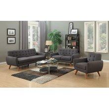 Daphne Gray Sofa Love Chair, SWU6928