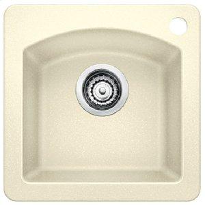 Blanco Diamond Bar Sink - Biscuit