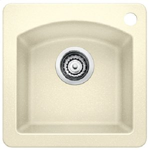 Blanco Diamond Bar Sink - Biscuit