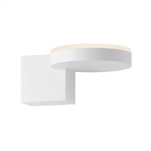 Disc-cube LED Sconce