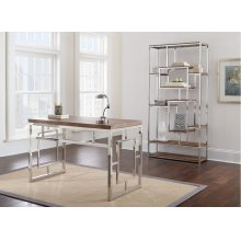 "Alize Book Shelf, 36""x12""x71"""