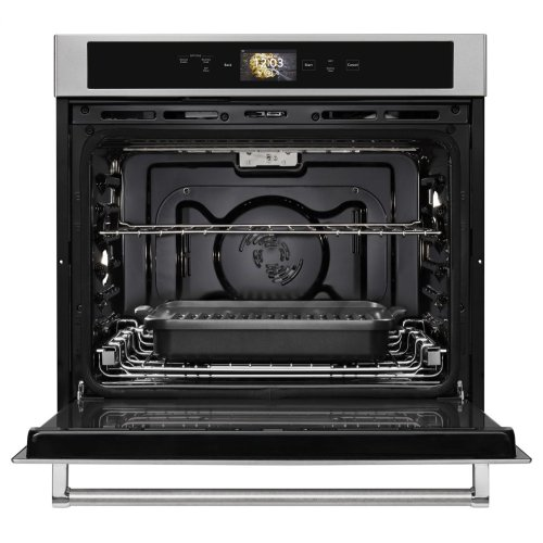 "Smart Oven+ 30"" Single Oven with Powered Attachments - Stainless Steel"