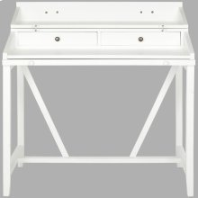 Wyatt Writing Desk W/pull Out - White